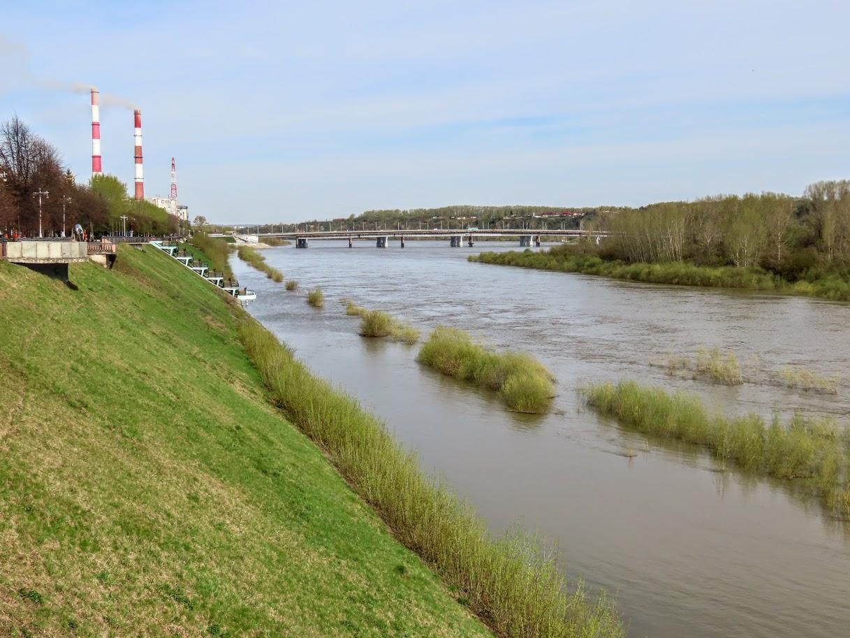 Уровень воды в Томи снова повысился IMG-7748