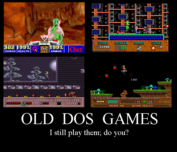 Old-DOS-Games