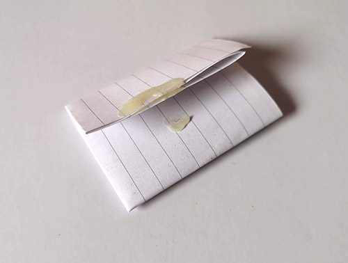 An image of folded paper.