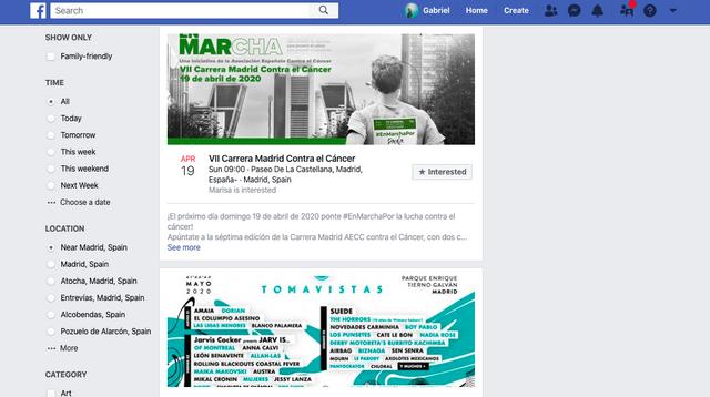 promocionar eventos en facebook