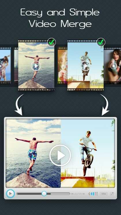 افضل تطبيق دمج الفيديوهات