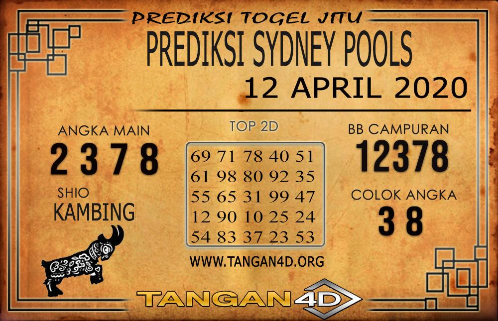 PREDIKSI TOGEL SYDNEY TANGAN4D 12 APRIL 2020