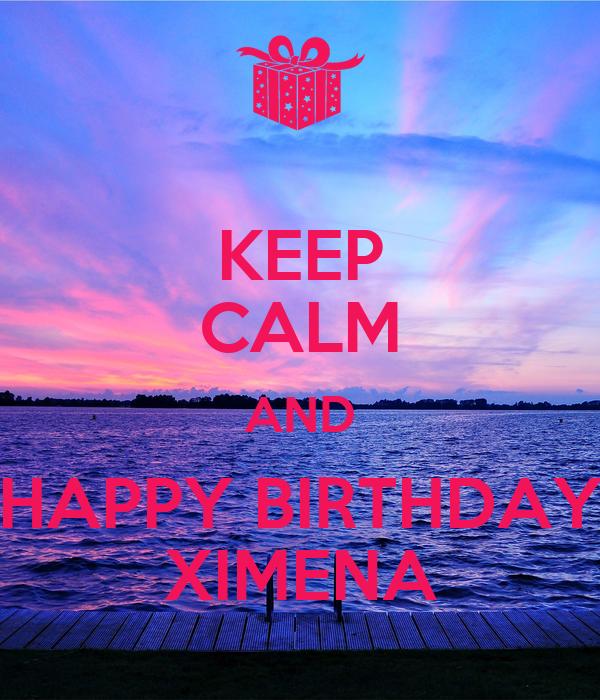 Ximena Navarrete, Miss Universo 2010, hoy cumple sus 33 años de edad Keep-calm-and-happy-birthday-ximena-12