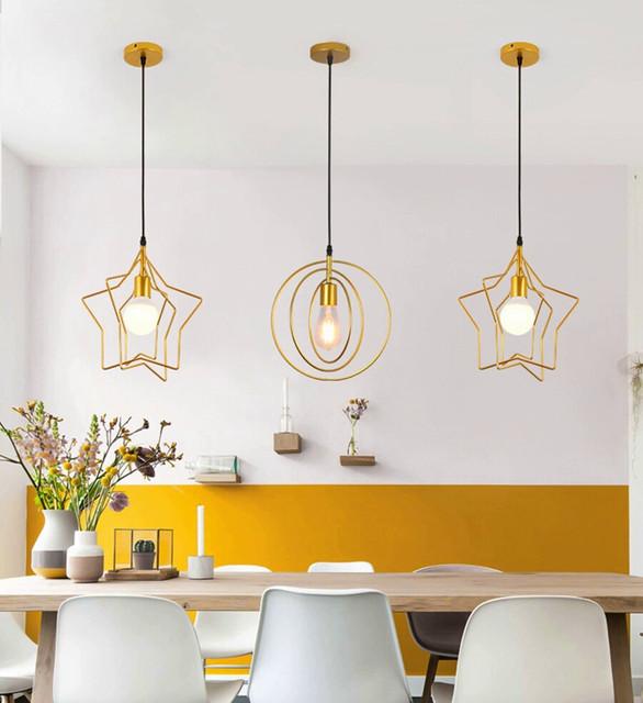 підвісні світильники для кухні