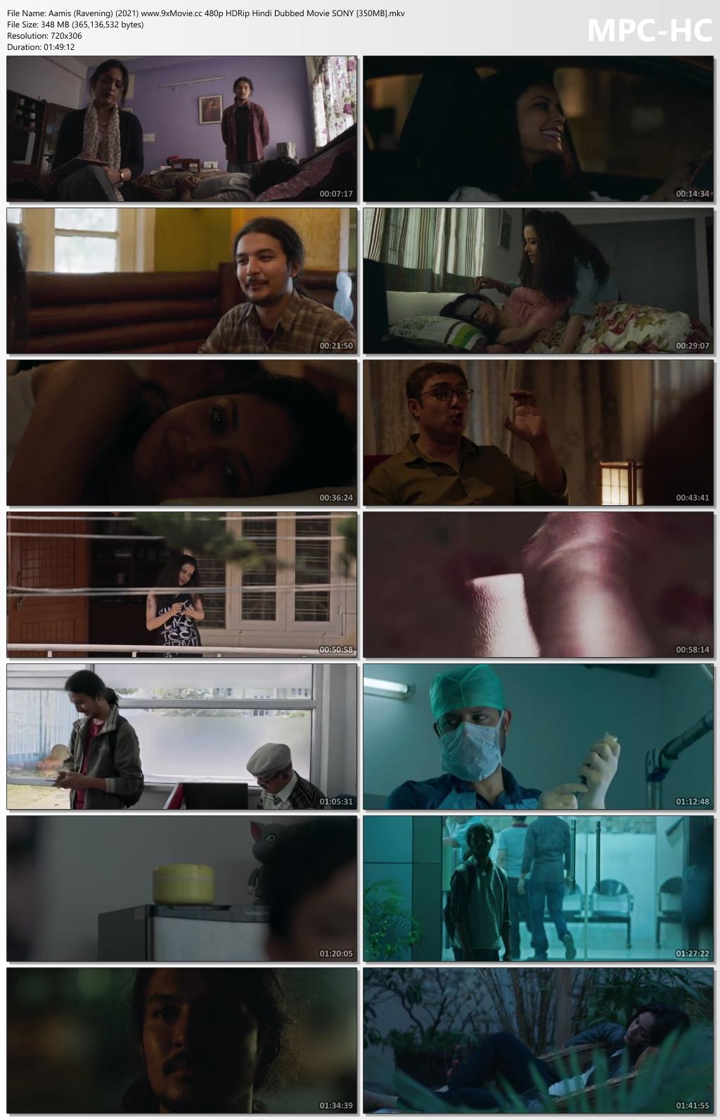Aamis-Ravening-2021-www-9x-Movie-cc-480p-HDRip-Hindi-Dubbed-Movie-SONY-350-MB-mkv