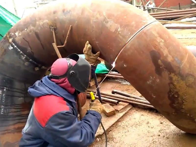 Как варить отопительные и водопроводные трубы - Фото
