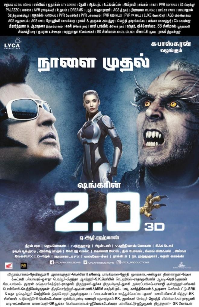 2.0 (2018) Hindi HdRip Full Movie 720p