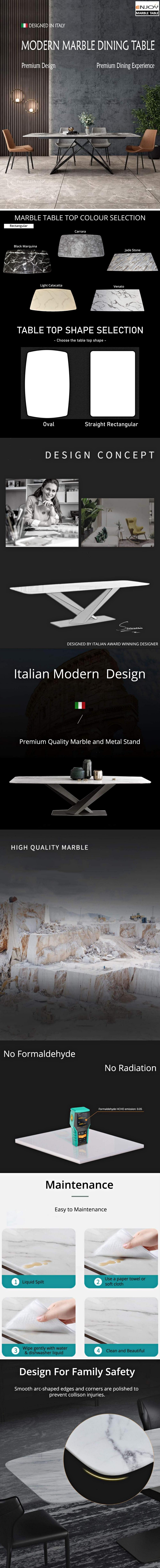 Rectangular-Triangular-Base-Dining-Table-Item-Description-1