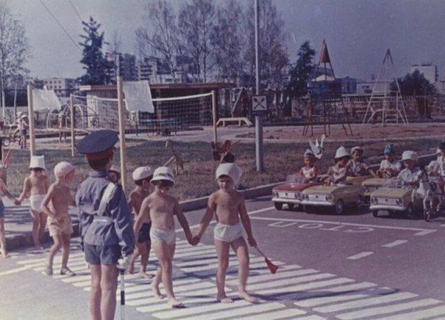 Игры в саду СССР