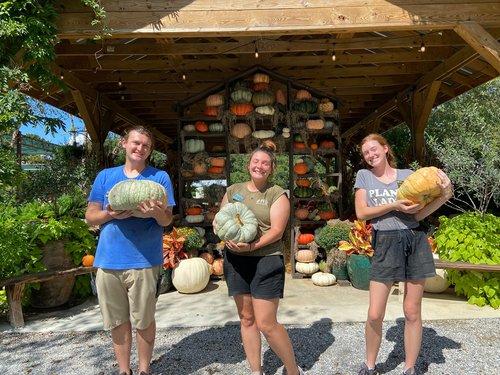 0925 nursery pumpkins