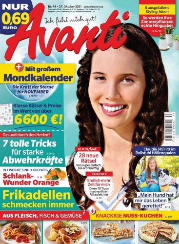 Avanti Frauenmagazin No 44 vom 27  Oktober 2021
