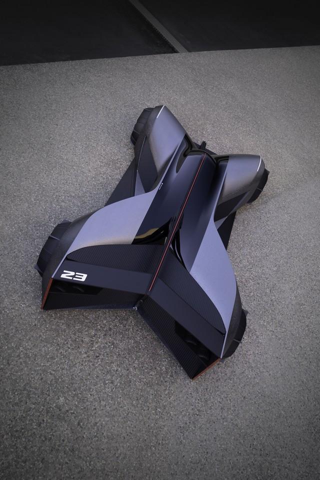 Nissan « GT-R(X) 2050 » : Le Projet D'un Stagiaire Devient Réalité Nis-GTR-2050-06-source