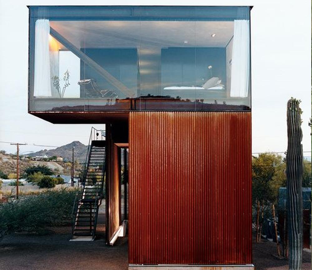 Desain Rumah Kecil Split Level Mewah
