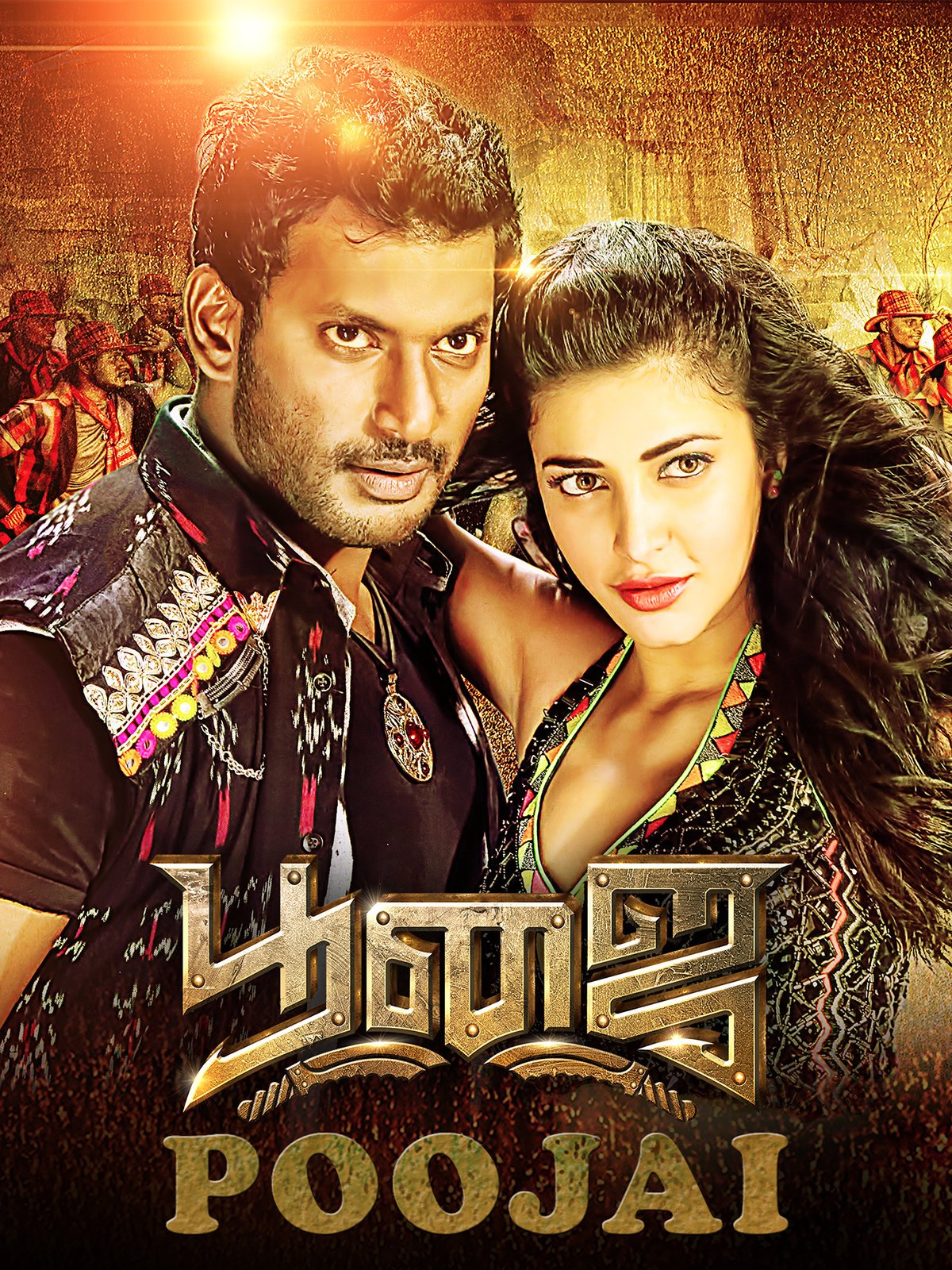 Poojai (2020) UNCUT Dual Audio Hindi ORG 720p HDRip x264 950MB ESub