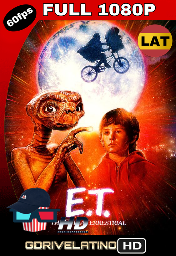E.T El Extraterrestre (1982) BRRip FULL 1080p Latino MKV