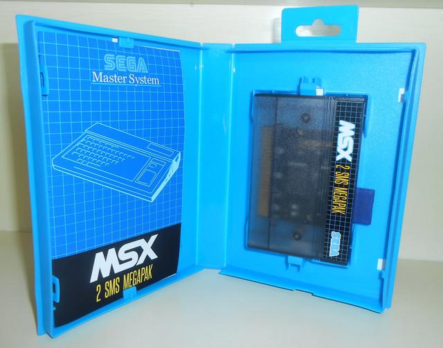 """MSX2SMS Compilation 500in1 """"Commandes ouvertes!!"""" MSX2-SMS-Megapack-Inside"""