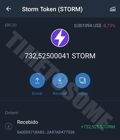 OPORTUNIDADE [Provado] Storm Play App - Criptomoedas Gratis - Android - Pagamento por Storm,Bitcoin,Ethereum,Litcoin,Dai (Actualizado em Fevereiro de 2020) Laststrom