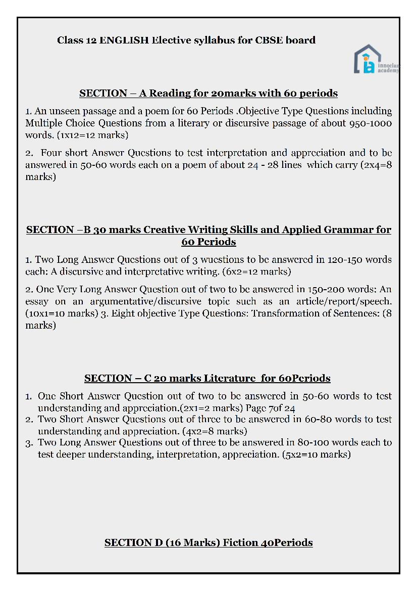 Class-12-ENGLISH-Elective-syllabus-for-CBSE-board-01