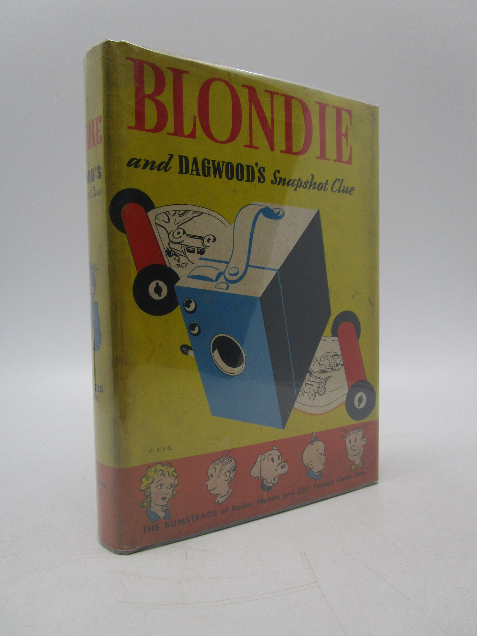 Image for Blondie and Dagwood's Snapshot Clue (Authorized Edition)