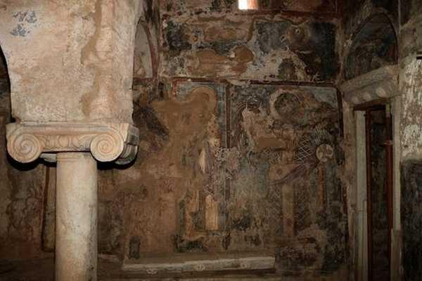 Η συντήρηση & έκθεση τοιχογραφιών Ι.Μ. Παναγίας Πρεβέντζας στο Καστράκι