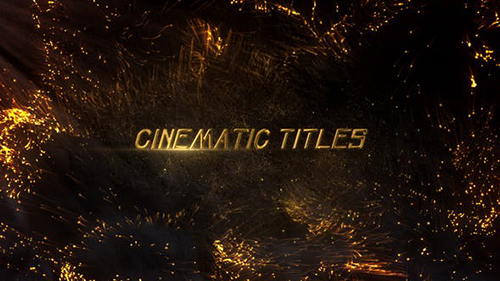 Cinematic Titles 33870190 - Project for After Effects (Videohive)