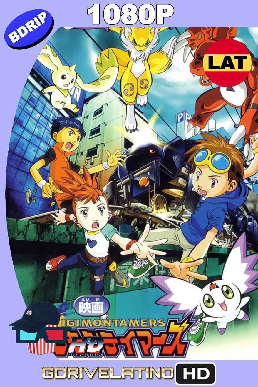 Digimon Tamers: El Expreso Digimon Fugitivo (2002) BDRip 1080p Latino-Japonés MKV