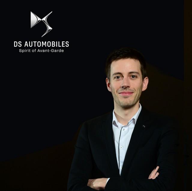 Nomination De Benjamin Maigre Responsable Communication de DS Automobiles B-MAIGRE-CZ-1