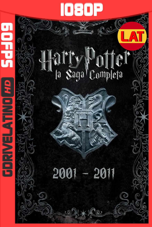 Colección de Harry Potter (2001-2011) 60FPS 1080p Latino-Inglés MKV
