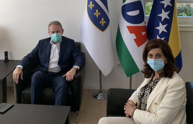 PREDSJEDNIK SDA RAZGOVARAO SA PREDSJEDNICOM BNVS-a! Ojačati veze i intenzivirati saradnju s ciljem poboljšanja položaja Bošnjaka u Sandžaku!
