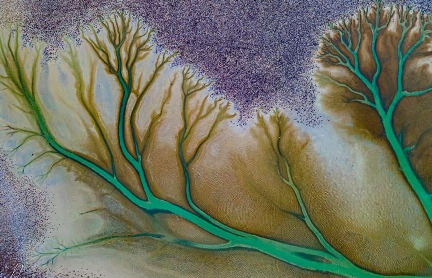 VIDEO: Jezero kao umjetničko delo koje je priroda stvorila sama!
