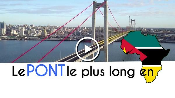 Le PONT suspendu le plus long en Afrique