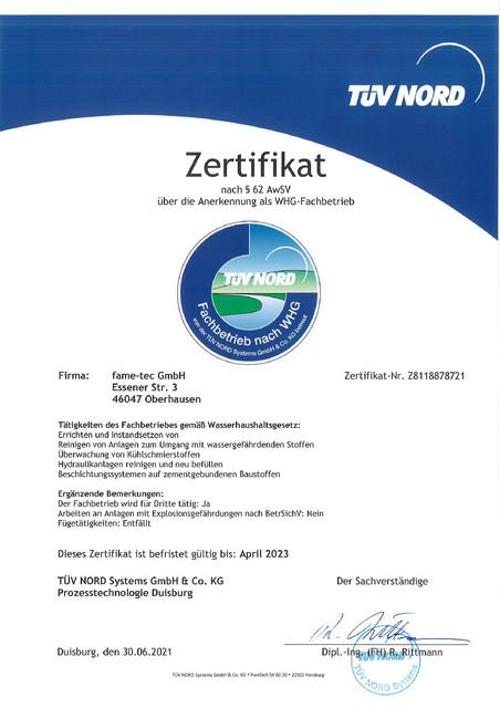 WHG-Zertifikat-2021