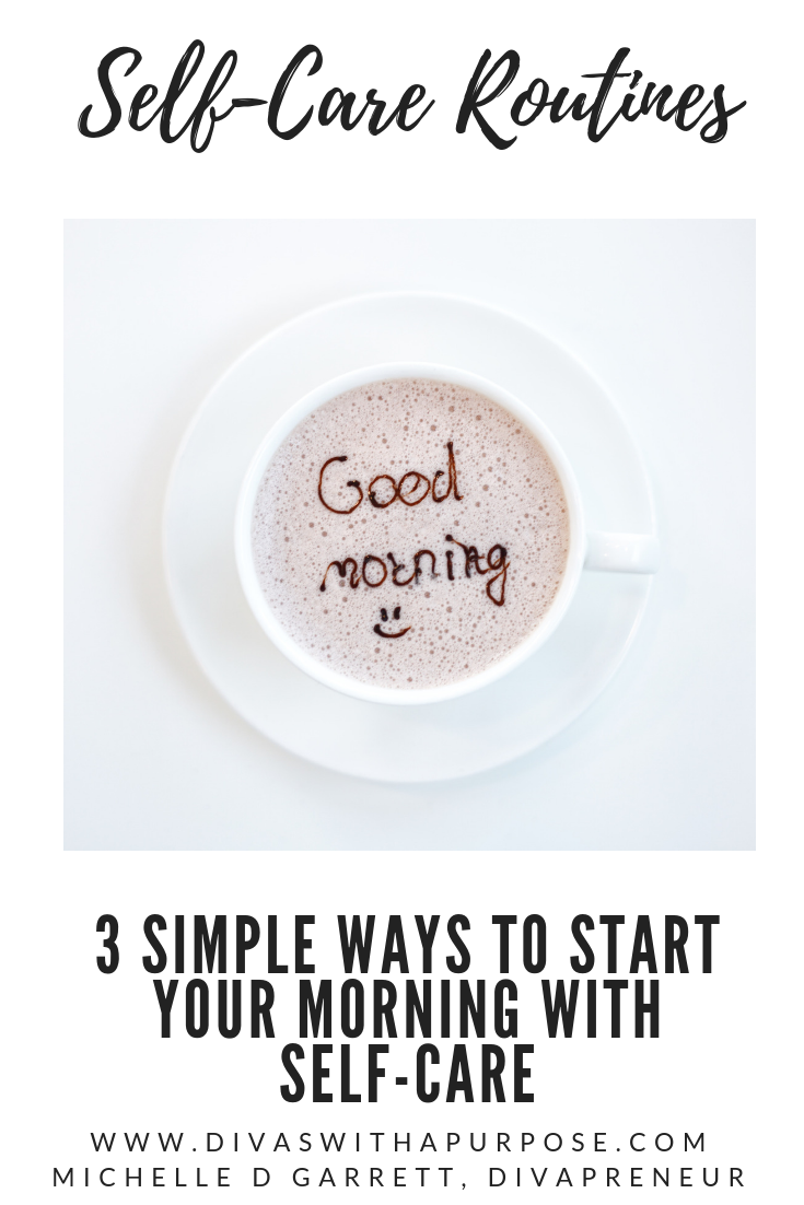 3 simple ways to start your morning with self care