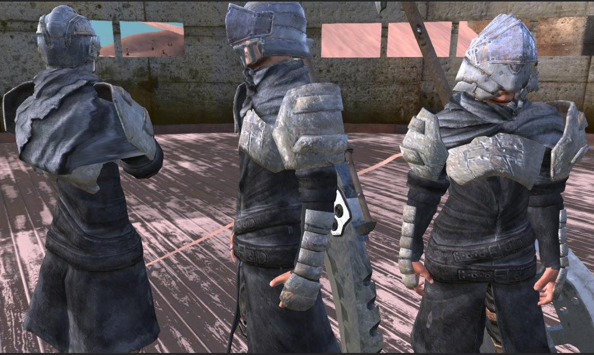 Equipment Mods Set -Vanguard Mercenaries-