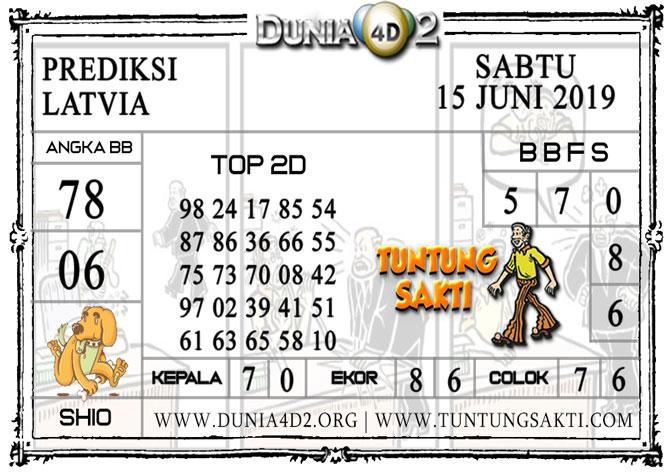 """Prediksi Togel """"LATVIA"""" DUNIA4D2 15 JUNI 2019"""
