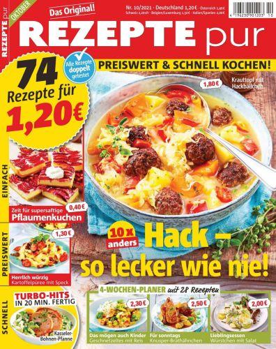 Cover: Rezepte mit Pfiff Magazin No 10 Oktober 2021