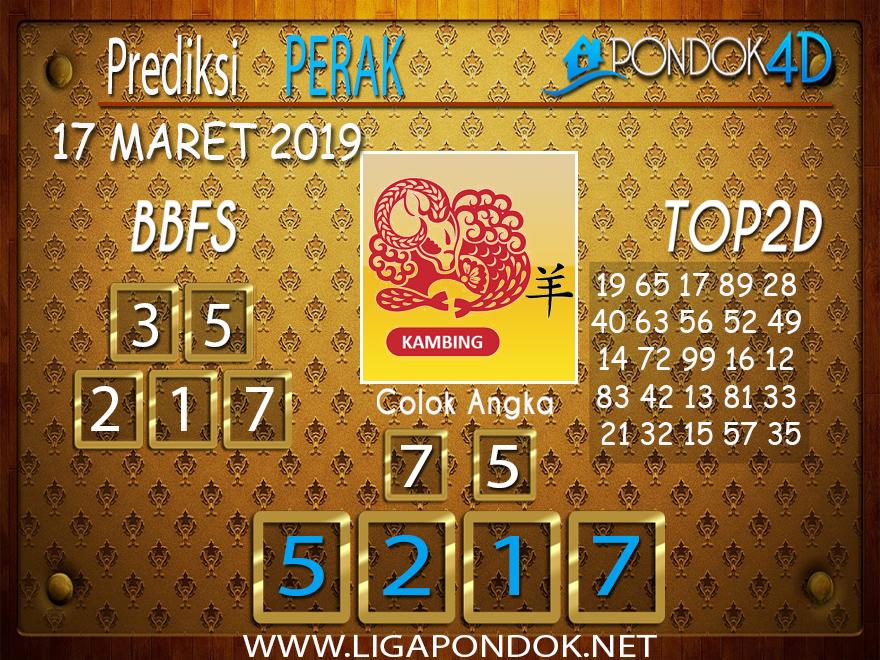 Prediksi Togel  PERAK  PONDOK4D 17 MARET 2019