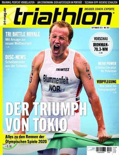 Cover: Triathlon Magazin No 183 September 2021