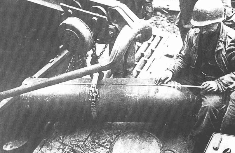 380 mm high-explosive rocket for self-propelled guns