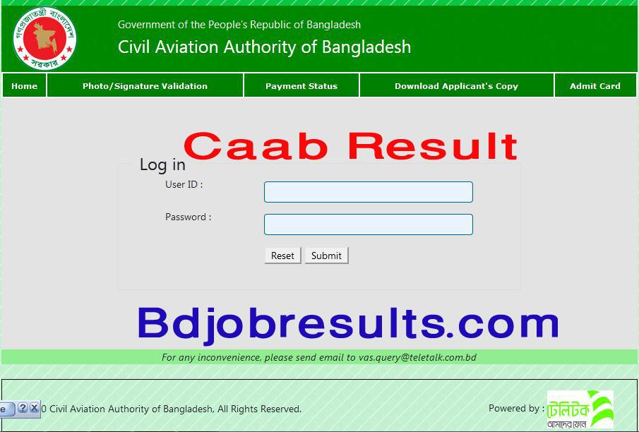 Caab-Result