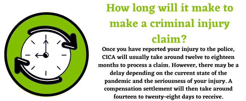 Criminal Injury reports