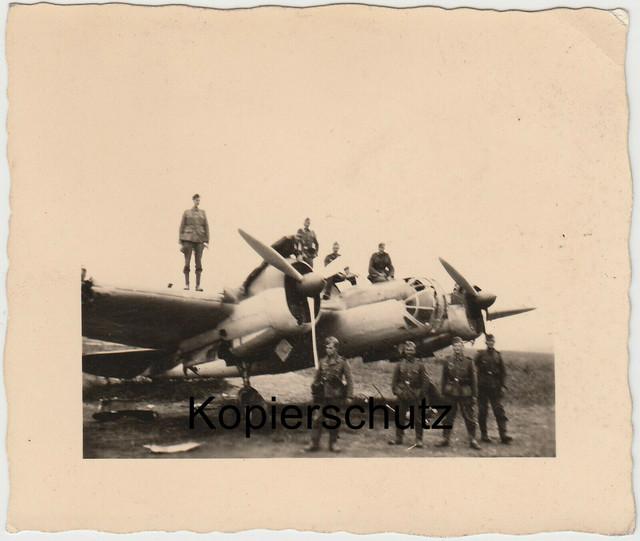 8-Beute-Flugzeug