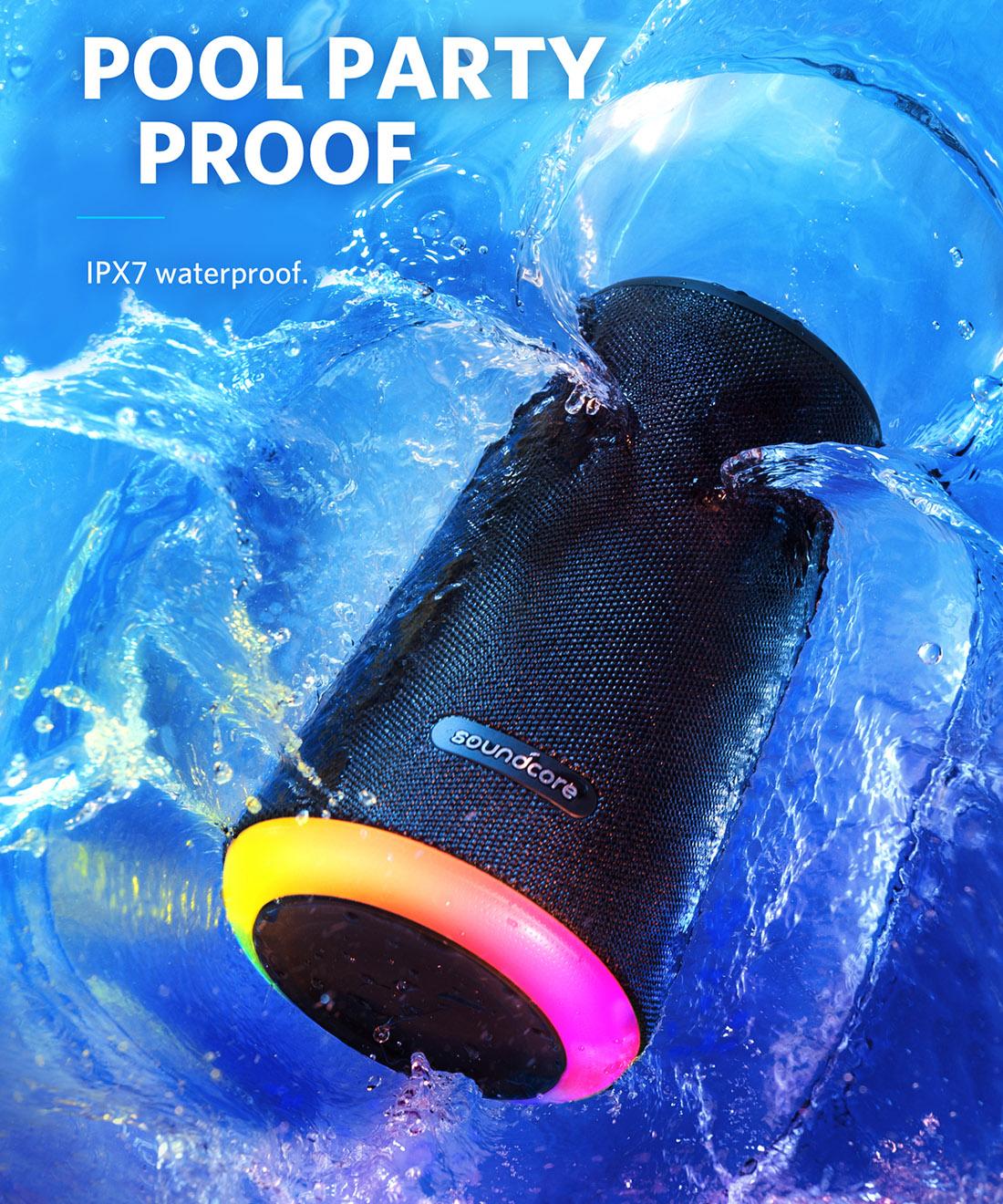 boxa portabila rezistenta la apa