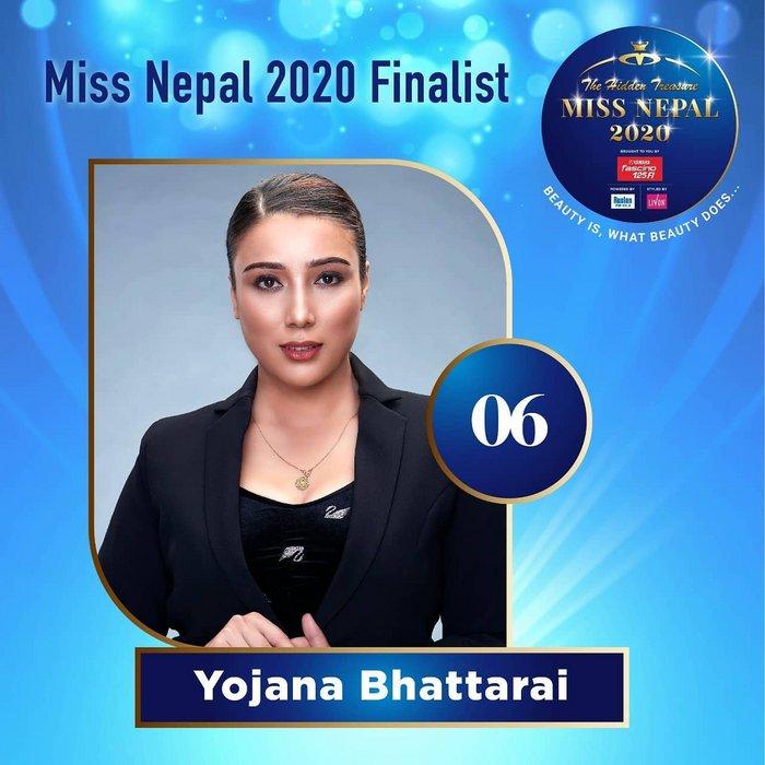 CANDIDATAS A MISS NEPAL 2020. FINAL 3 DE DICIEMBRE. 6