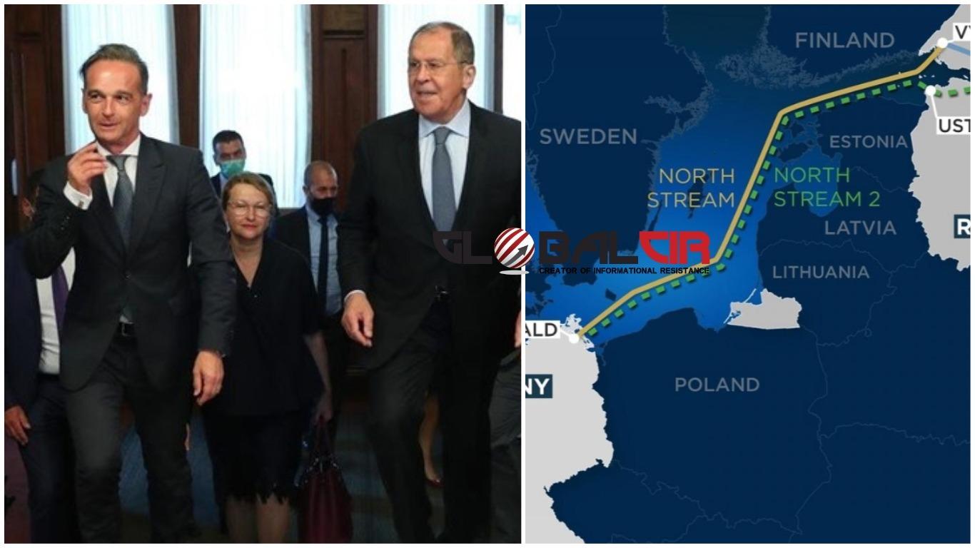 PREDSJEDNIK TRAMP BLOKIRA RUSKU ENERGETSKU EKSPANZIJU! Njemački šef diplomatije razgovarao sa Lavrovom: Tvrdi da su SAD na pogrešnom putu zbog sankcija 'Sjevernom toku 2' jer one 'ugrožavaju interese EU'