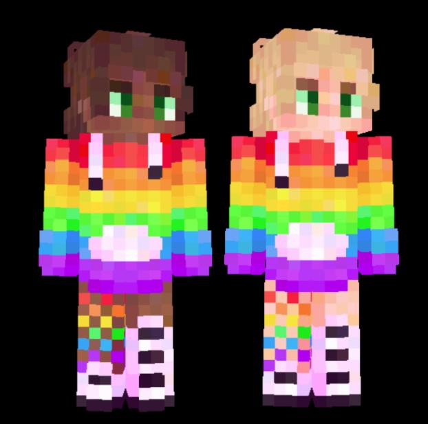 gay ; pride month Minecraft Skin