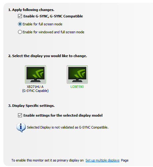 Nvidia Gsync/Freesync post your results | ResetEra