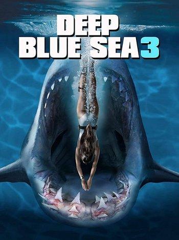 Deep Blue Sea 3 (2020) English 720p HDRip ESub MovCr