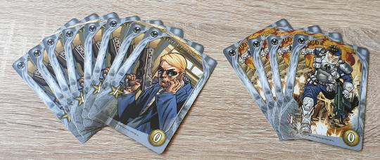 Je begint elk potje met deze twaalf kaarten.