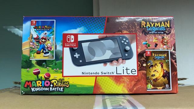Les différents pack Switch Lite-Rayman